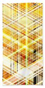 Abstract Shining Lines Beach Towel