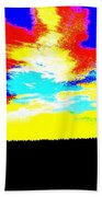 Abstract Sky Beach Towel