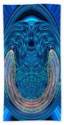 Abstract Smile Beach Towel