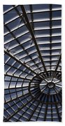 Abstract Spiderweb View Of A Central Tower Skylight At The World Beach Towel