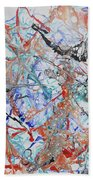 Abstract String Beach Towel