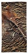 Abstract Surface Bumpy Stone Beach Towel