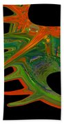 Abstract Tenticles Beach Towel
