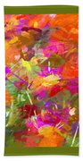 Abstract Thought Processes Beach Towel