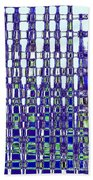 Abstract Time Beach Towel
