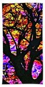 Abstract Tree 304 Beach Towel
