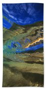 Abstract Underwater View Beach Towel