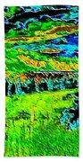 Abstract Vista Beach Towel
