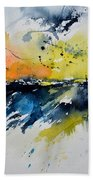 Abstract Watercolor 7007555 Beach Towel