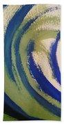 Abstract Waves Beach Sheet