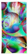 Abstract051710b Beach Towel