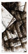 Abstracta 24 Cadenza Beach Towel