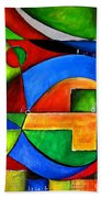 Abstraction 1723 Beach Towel