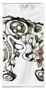 Abstraction 1952 Beach Towel
