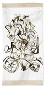Abstraction 1959 Beach Towel