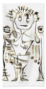 Abstraction 2045 Beach Towel