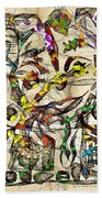 Abstraction 2049 Beach Towel