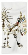 Abstraction 2185 Beach Towel