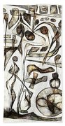 Abstraction 2217 Beach Towel