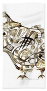 Abstraction 2247 Beach Towel