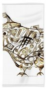 Abstraction 2248 Beach Towel