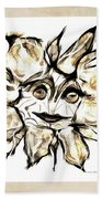 Abstraction 2253 Beach Towel