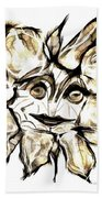 Abstraction 2254 Beach Towel