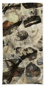 Abstraction 2322 Beach Towel