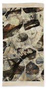 Abstraction 2324 Beach Towel