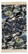 Abstraction 2328 Beach Towel