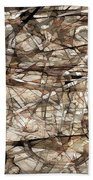 Abstraction 2339 Beach Towel