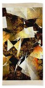 Abstraction 2398 Beach Towel