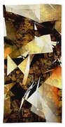 Abstraction 2399 Beach Towel