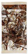 Abstraction 2406 Beach Towel