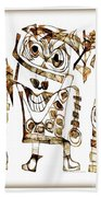 Abstraction 2421 Beach Towel