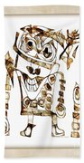 Abstraction 2422 Beach Towel