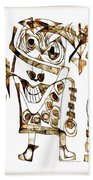 Abstraction 2423 Beach Towel