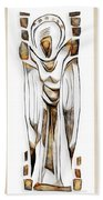 Abstraction 2428 Beach Towel
