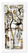Abstraction 2430 Beach Towel