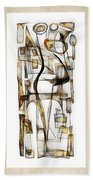Abstraction 2431 Beach Towel