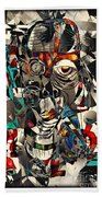 Abstraction 2501 Beach Towel