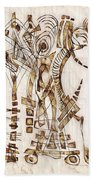 Abstraction 2565 Beach Towel