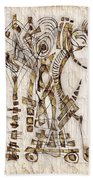 Abstraction 2566 Beach Towel