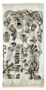 Abstraction 2569 Beach Towel