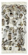 Abstraction 2570 Beach Towel