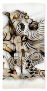 Abstraction 2737 Beach Towel
