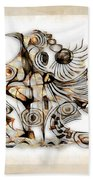 Abstraction 2740 Beach Towel