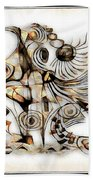 Abstraction 2741 Beach Towel