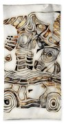 Abstraction 2807 Beach Towel