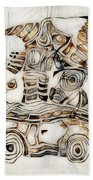 Abstraction 2810 Beach Towel